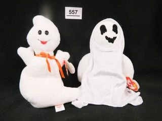 Spooky and Sheets Beanie Babies