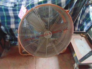 Hampton Bay portable shop fan 24 blade