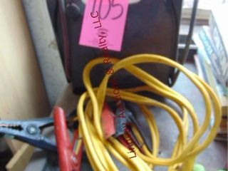 Power pac jump box   jumper cables