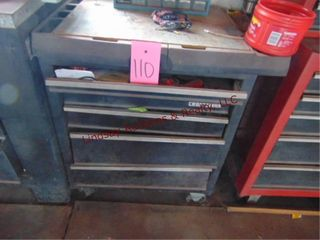 Craftsman 5 drawer tool box on whls 30 x19 x32