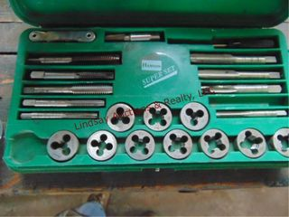 Hanson tap   die set  missing 1