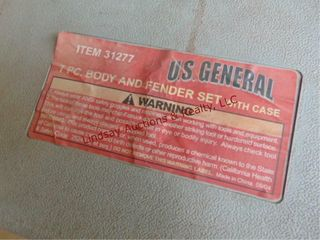US general 7pc body   bender kit