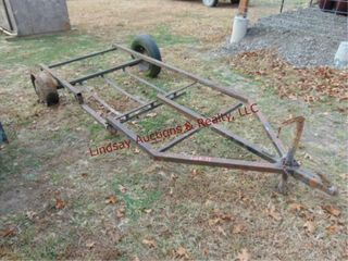 4  x 101  SA trailer frame  2  ball  missing tire