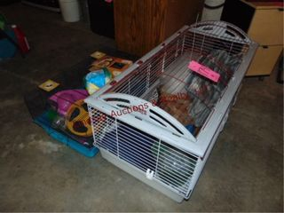 Pair of pet cages   other