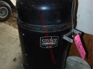 Electric Charbroil smoker