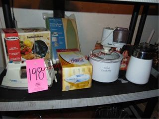 1 lot of small kitchen appliances