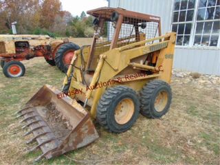 Case 1845B skid loader 2873 hrs showing  Diesel