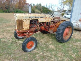 Case 530 tractor 4 spd  w  hi lo  gas  37 03HP