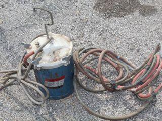 Vintage 2 5 Gallon Speedy Sprayer Paint Tank and Hoses