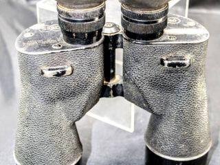 Vintage WWII Military SARD Square D Company Flushing NY Binoculars 7X50