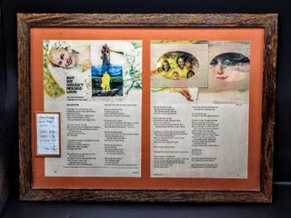 Framed 1975 love Story  But We Haven t Missed love  Adapted Poem By lois Wyse  20  x 15