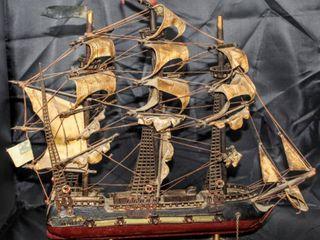 The USS Bonhomme Richard Model Ship