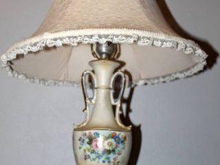 Vintage Ceramic Victorian lamp
