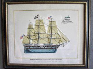 The Whale Ship Charles W Morgan by Joseph A  Phelan 25 25  x 21
