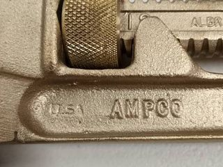 Ampco 12 inch pipe wrench