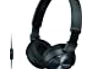 Sony On the Ear Headphones for Smartphones   Black  MDRZX310AP B