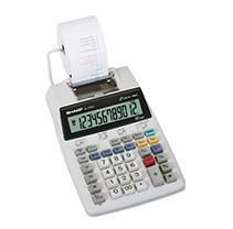 El 1750V Two Color Printing Calculator  Black Red Print  2 lines Sec