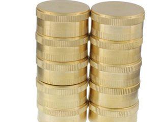 AquaPlumb 0497X10 Brass Garden Hose End Caps  Pack of 10
