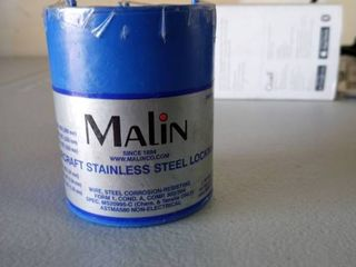 malin aircraft stainless steel lockwire dia  021  533mm one pound
