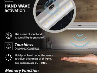eshine lED lighting kit six pack with hand wave activation