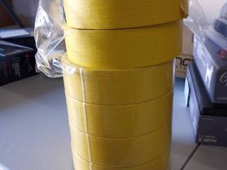 star extreme yellow masking tape 6 Rolls made in the USA