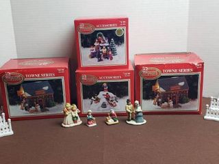 Dickens Collectables 2 Towne Series Buildings and Accessories