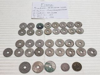 Coins of France   Early 1900s