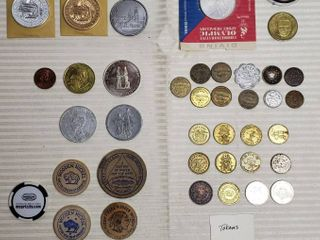 Tokens   Various Styles and Types