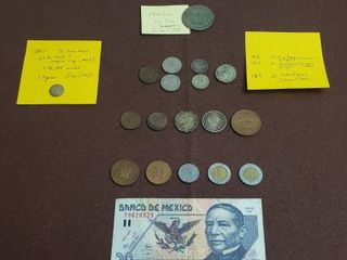Coins   Currency of Mexico
