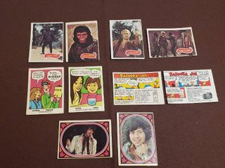 Vintage Cards from Food Packages   1960s   70s