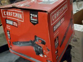 Craftsman 27cc 2 cycle Gas Powered Handheld leaf Blower Cmxgaamr27bl