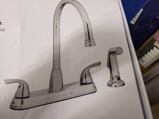Project Source Hi arc Kitchen Faucet   Chrome   21 k822 psd