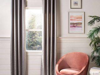 Two BagsSafavieh Bilra Glam Grommet Curtain Window Panel
