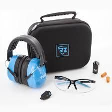 Rz Air Filtration Safety Kit Goggles Ear Face Eye Protection With Black Case