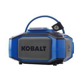 Kobalt Portable Speaker