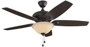 Harbor Breeze Coastal Creek 52 in Bronze led Indoor Ceiling Fan Broken Cover