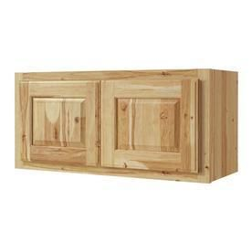 Kitchen Classics 30 in W x 14 in H x 12 in D Finished Denver Hickory Double Door Kitchen Wall Cabinet