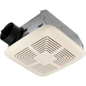 Broan 4 Sone 70 CFM White Bathroom Fan