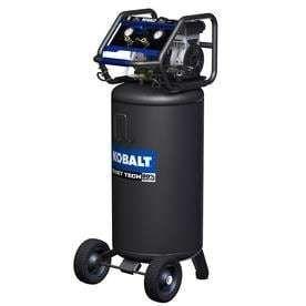 Kobalt QUIET TECH 26 Gallon Portable Electric Vertical Quiet Air Compressor