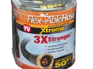 As Seen on TV 50ft Flexible Extreme Garden Hose Black