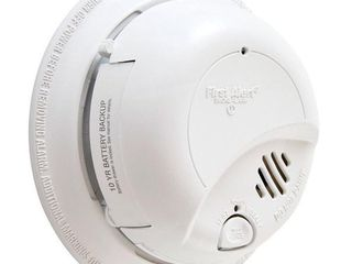 First Alert 9120lBl Hardwired Smoke Detector with 10 Year Battery Backup  SET OF 2