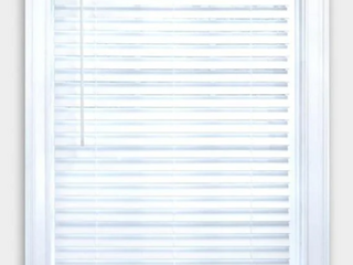 Allen Roth 2in Cordless Faux Wood Blind