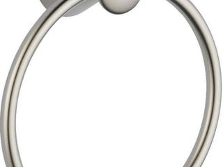 Delta lahara 73846 SS Towel Ring  Stainless