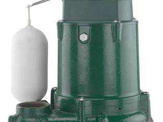 Zoeller 1052 1 3hp 48gpm Cast Iron Submersible Sump Pump M1052 a