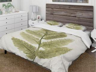 Designart Simple Forest IV Cottage Bedding Set   Full Queen