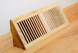 WOOD BASE VENTS   BASEBOARD WOOD VENTS  Pin is broken from wood see photo