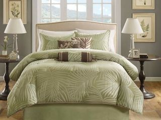 Copper Grove Geneva Sage 7 piece Comforter Set   Queen