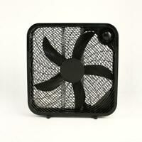 Indoor Box Fan Personal Portable Desk Room Cooler 3 speed