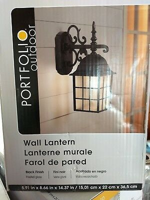 Portfolio Outdoor Wall lantern