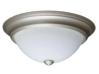Project Source 13 inch Traditional led Flush Mount light
